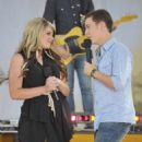 "American Idol ""Top 11″ performed on Good Morning America's concert series in New York City, today, August 12"
