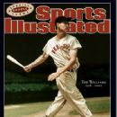 Ted Williams - Sports Illustrated Magazine Cover [United States] (15 July 2002)