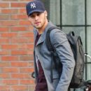 Ryan Guzman is seen leaving the Bowery Hotel in New York City, New York on January 22, 2015. Ryan has been in town promoting his new movie 'The Boy Next Door' - 421 x 600