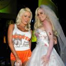 Holly Madison - In Hooters Outfit
