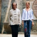 David Carradine and Uma Thurman in Kill Bill: Volume 1 - 2003