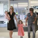 Nicole Kidman: at the airport