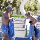 Kelsey Grammer & Kayte Walsh: Poolside Lovers