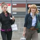 Kristin Kreuk and Allison Mack – Shopping in Vancouver - 454 x 345