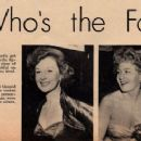 Susan Hayward - Movie Life Magazine Pictorial [United States] (August 1952) - 454 x 245