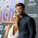 Elsa Pataky and Chris Hemsworth- Los Angeles World Premiere Of Marvel Studios' 'Avengers: Endgame' - 454 x 303