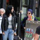Krysten Ritter and Rachael Taylor – Filming 'Jessica Jones' set in Manhattan - 454 x 471