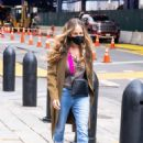 Sarah Jessica Parker – Arriving at her SJP Collection shop in New York - 454 x 681