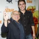 Zac Efron and Danny Devito participated in the National Education Association's 15th annual Read Across America Day, March 2, at The New York Public Library, in New York