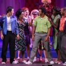 Nick Jonas and Corbin Bleu performed in the Hollywood Bowl production of Hairspray last night, August 5, in Los Angeles. The special performance will run through tomorrow, August 7