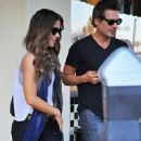 Kate Beckinsale stops by a nail salon for a mani/pedi in Santa Monica, California on January 31, 2015 - 452 x 600