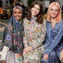 Alexandra Daddario – Tory Burch Show 2020 – New York Fashion Week - 454 x 593