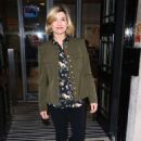 Jodie Whittaker – Arriving at BBC Radio Two Studios in London - 454 x 681
