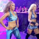 Alicia Fox and Michelle McCool on Smackdown