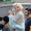 Katy Perry – Arriving at the 'American Idol' set in Los Angeles