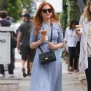 Isla Fisher at a Iced Coffee in Los Angeles May 18, 2017 - 454 x 656