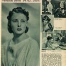 Ingrid Bergman - Filmwelt Magazine Pictorial [Germany] (24 February 1939)