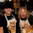 John Rich and Vince Neil attend the 16th Annual Waiting for Wishes Celebrity Dinner Hosted by Kevin Carter & Jay DeMarcus on April 18, 2017 in Nashville, Tennessee. - 454 x 344