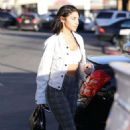 Chantelle Jeffries at Sunset Foot Spa in Los Angeles