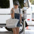 Ashley Tisdale visits Nine Zero One salon in West Hollywood