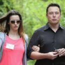Elon Musk and Talulah Riley - 454 x 299