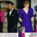 Infanta Elena, Prince Charles, Princess Diana and Infanta Cristina - 1987 - 454 x 314