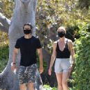 Gwyneth Paltrow and Brad Falchuk – Go out for an afternoon stroll in LA