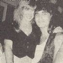 Jerry Dixon and Susan Ashley at Jani Lane's private party on May 5th, 1990.