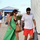Irina Shayk: hit the beach in Miami