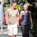 LeAnn Rimes Hits The Coffee Shop In Santa Monica - September 2 2009