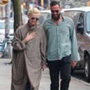Tilda Swinton and Sandro Kopp are spotted out for a stroll in New York City, New York on March 31, 2016 - 429 x 600