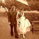 Mikael and Anna Akerfeldt on their wedding day  on August 15th 2003