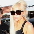 Lady Gaga Closes Out the Week at the Studio