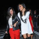 Nicole Scherzinger: arrives at the Topshop Topman LA Opening Party at Cecconi's West Hollywood