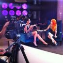 Luciana Gimenez interviews Megan Massacre - 2013 - 454 x 454