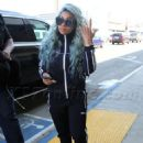 Blac Chyna at LAX Airport in Los Angeles, California - September 2, 2017 - 454 x 629