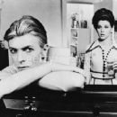 David Bowie and Candy Clark in The Man Who Fell to Earth (1976)