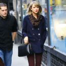 Taylor Swift Street Style Out In Nyc