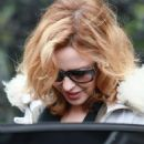 Kylie Minogue - Leaving Her Home, 3 February 2010