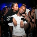 Lashontae Heckard and Brandon Jennings - 454 x 303