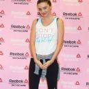 Miranda Kerr attending her press conference for Reebok Skyscape on Wednesday (April 3) in Tokyo, Japan