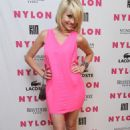 Chelsea Staub - Nylon Magazine June/July 2010 Music Issue Launch Party 22/06/10