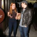 Bella Thorne works a shift at Sprinkles Cupcakes at The Grove in Los Angeles, California on December 18, 2014 - 454 x 635