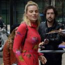 Margot Robbie – Seen Outside of the BBC Radio 1 studios in London