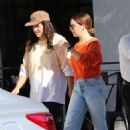 Ashley Tisdale – Out with a friend in Los Angeles