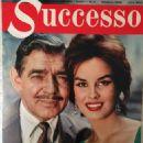 Antonella Lualdi, Clark Gable - Successo Magazine Cover [Italy] (October 1959)
