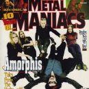 Esa Holopainen, Pasi Koskinen - Metal Maniacs Magazine Cover [United States] (June 1999)