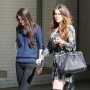 Kendall Jenner visit the LA Children's Hospital on Halloween weekend