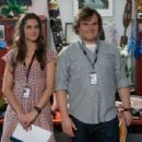 Jack Black and Amanda Peet