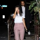 Kourtney Kardashian at Pace Restaurant in Los Angeles - 454 x 681